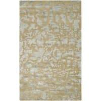 Safavieh Handmade Soho Taupe/ Light Grey New Zealand Wool Rug - 9'6 x 13'6