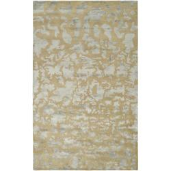 Safavieh Handmade Soho Taupe/ Light Grey New Zealand Wool Rug (6' x 9')