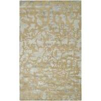 Safavieh Handmade Soho Taupe/ Light Grey New Zealand Wool Rug - 8'3 x 11'