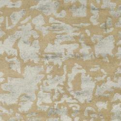 Safavieh Handmade Soho Taupe/ Light Grey New Zealand Wool Rug (6' Square)