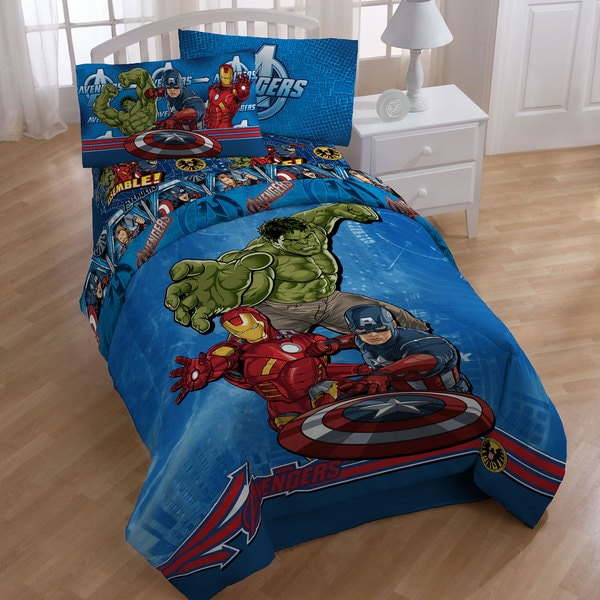 Marvel Comics 'Avengers' 5-piece Bed in a Bag with Sheet Set