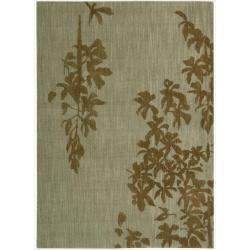 Nourison Home Metropolitan Green Rug (7'9 x 10'10)