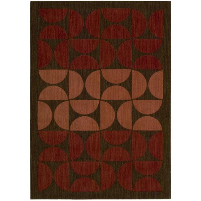 Nourison Home Metropolitan Red Rug (5'3 x 7'5)