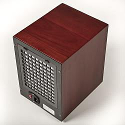 Cherry Wood 6-stage Air Purifier with HEPA UV Ozone Ionic - Thumbnail 2