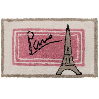 "Sherry Kline Paris Cotton 20 x 30 Bath Rug - 1'8"" x 2'6"""