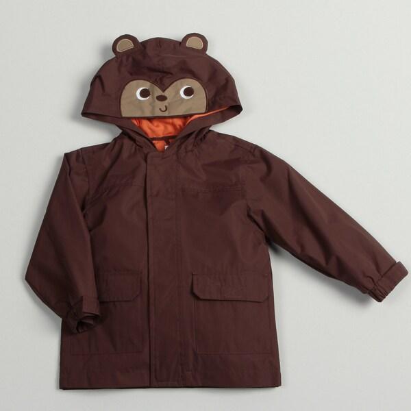 Carters Toddler Boy's Monkey Rain Jacket