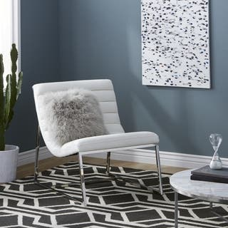 Accent Chairs, Leather Living Room Chairs For Less | Overstock.com