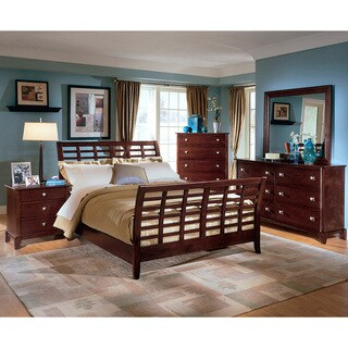 Barton Brown Queen Size Modern Bedroom Set
