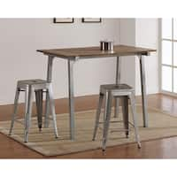 Carbon Loft Tabouret Metal and Wood Table
