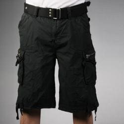 Laguna Beach Jean Company Men's Hermosa Beach Black Belted Cargo ...