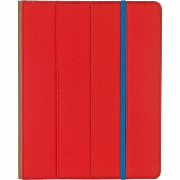 M-Edge Trip Jacket Carrying Case for iPad - Blue, Pomegranate
