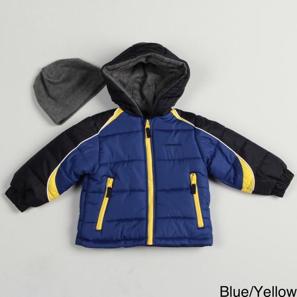 London Fog Toddler Boy's Bubble Jacket FINAL SALE