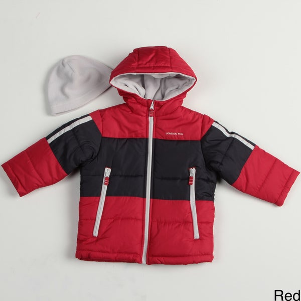 London Fog Boy's Colorblock Bubble Jacket