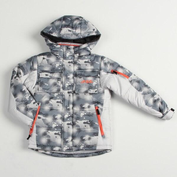 London Fog Boy's Grey Snowboard Jacket