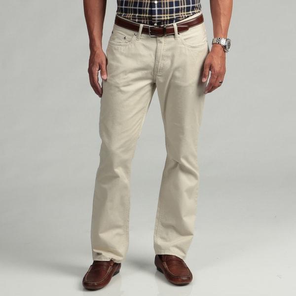 Kenneth Cole New York Men's Sahara Tan Pants FINAL SALE