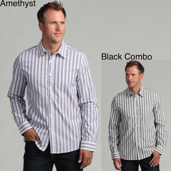 Kenneth Cole New York Men's Striped Shirt