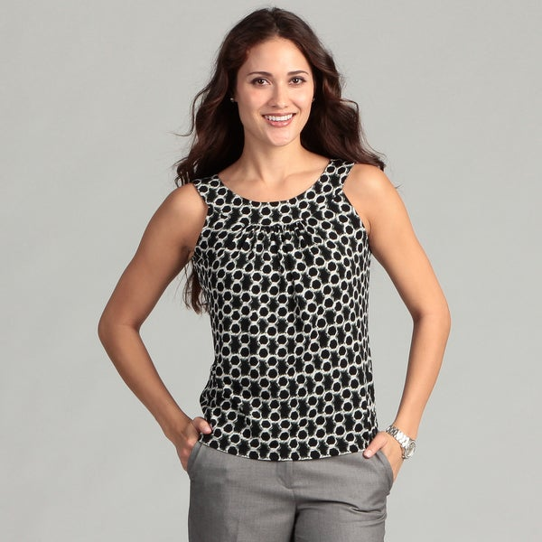 Calvin Klein Women's Honey Comb Printed Tank
