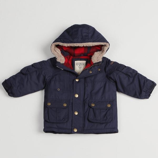 Osh Kosh Toddler Boy's Navy Rugged Parka