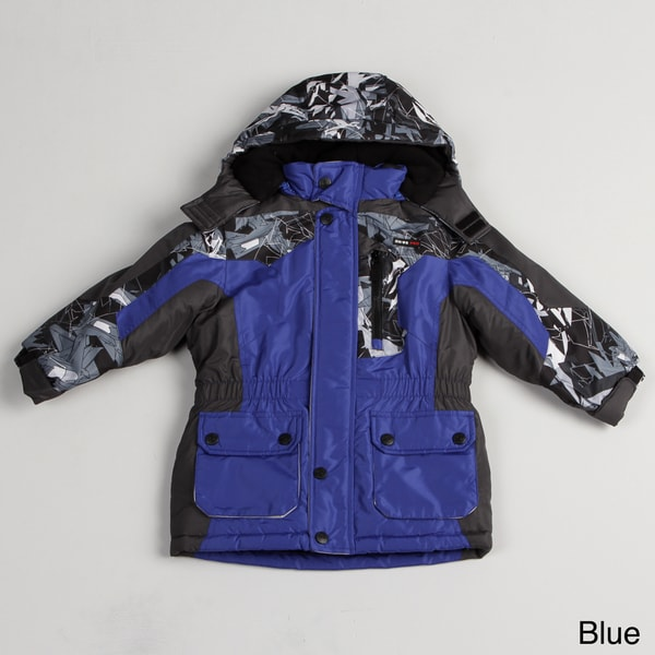 Osh Kosh Boys' Color Block Parka
