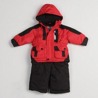London Fog Infant Boy's Colorblocked Snow Suit