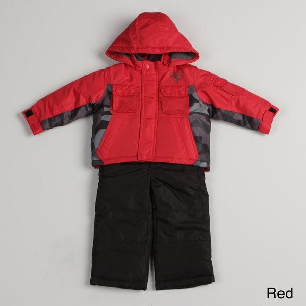 Osh Kosh Toddler Boy's Colorblock Snow Suit