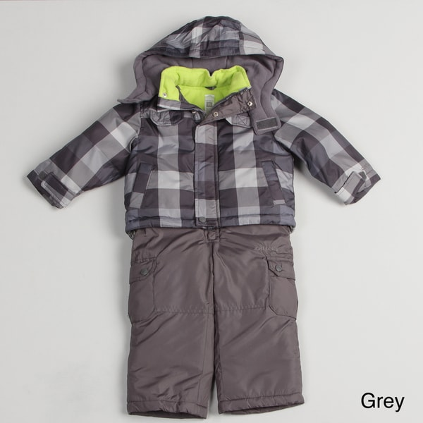 2682b6aa4 Shop Carters Toddler Boy's Plaid Snowsuit - Free Shipping On Orders ...