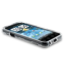 BasAcc Clear Snap-on Crystal Case for HTC EVO 3D