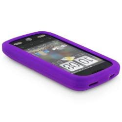 BasAcc Dark Purple Silicone Skin Case for HTC Droid Eris