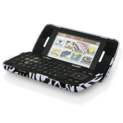 INSTEN Clear/ Hot Pink/ Dark Purple/ Zebra Phone Case Cover for LG enV Touch VX11000