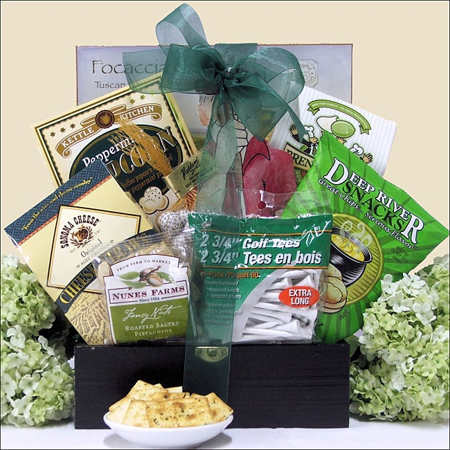 Great Arrivals Just Fore You: Golf Gift Basket