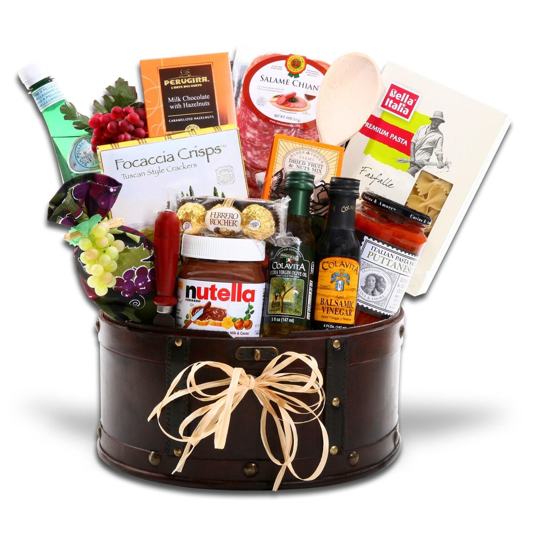 Alder Creek Gift's Mangi. Mangi. Gift Basket