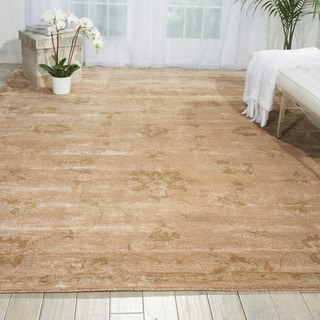 Nourison Hand-tufted Superlative Gold Rug (9'6 x 13'6)