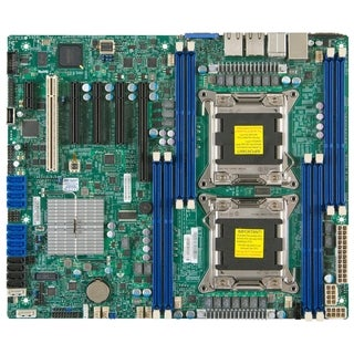 Supermicro X9DRL-iF Server Motherboard - Intel C602 Chipset - Socket