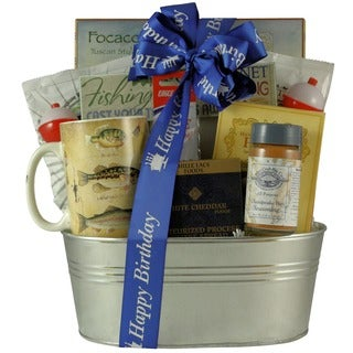 Great Arrivals Gone Fishing Gourmet Gift Basket
