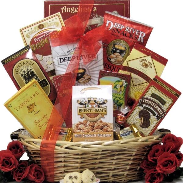 Great Arrivals Snack Attack Gourmet Gift Basket