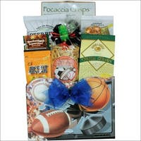 Great Arrivals Armchair Athlete:  Gourmet Sports & Snack Gift Basket