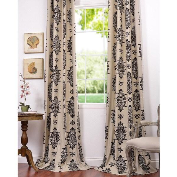 Exclusive Fabrics Jakarta Printed Cotton 96-inch Curtain Panel