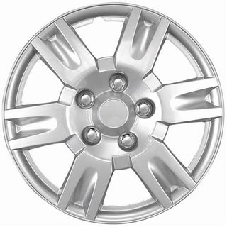 Silver 16-inch Hub Caps (Set of 4)