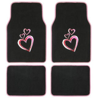 New Love Story 4-piece Carpet Floor Mat Set