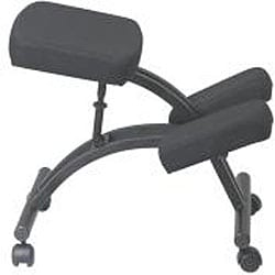 Office Star Ergonomically Designed Knee Chair with Casters and Memory Foam - Thumbnail 2