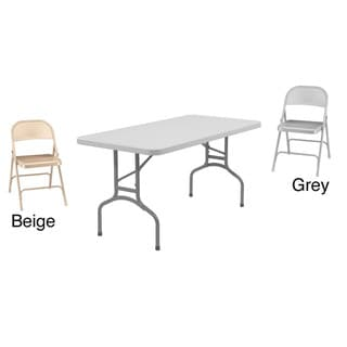 Link to NPS 60-inch Folding Table and Chairs Set Similar Items in Home Office Furniture
