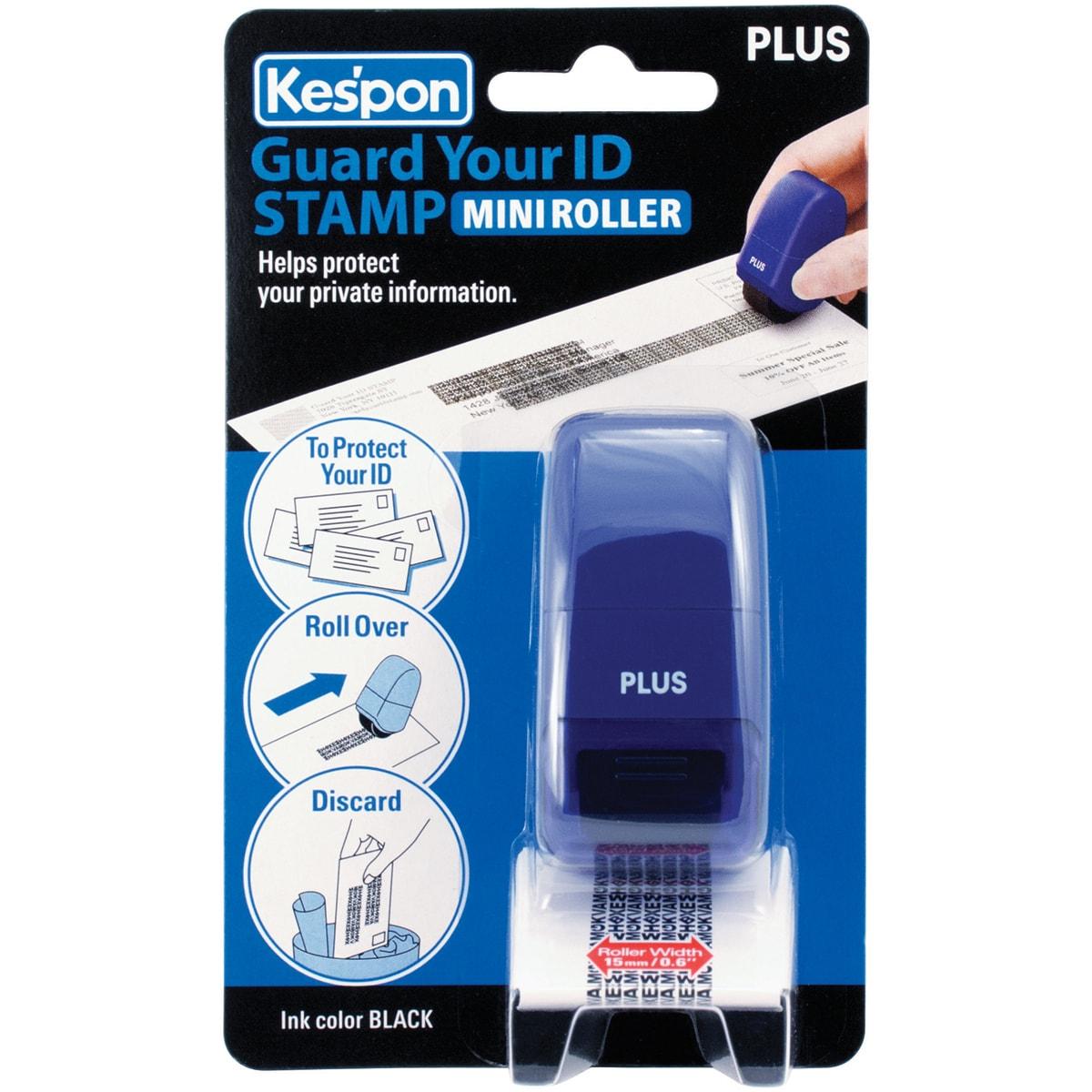 Guard Your ID Mini Roller 1/Pkg-Blue