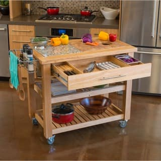 Chris & Chris Pro Chef Kitchen Work Station|https://ak1.ostkcdn.com/images/products/6716109/P14265646.jpg?impolicy=medium