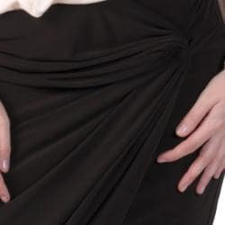 Tressa Designs Women's Stretchy Knot Detail Skirt