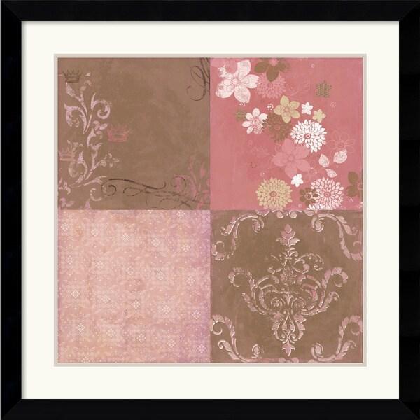 Bohemia Studios 'Princess Blossoms' Framed Art Print