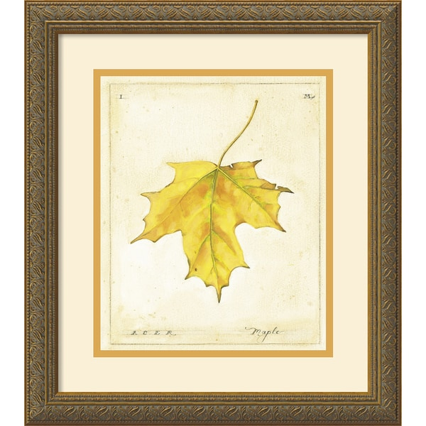 Meg Page 'Maple Leaf' Framed Art Print