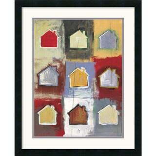 Framed Art Print 'Home Sweet Home Sweet Home I' by Niro Vasali 22 x 27-inch