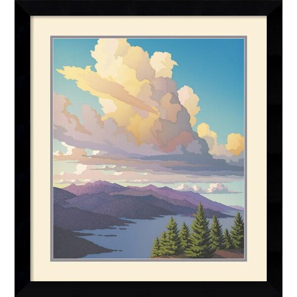 Doug West 'Evening Sonata' Framed Art Print