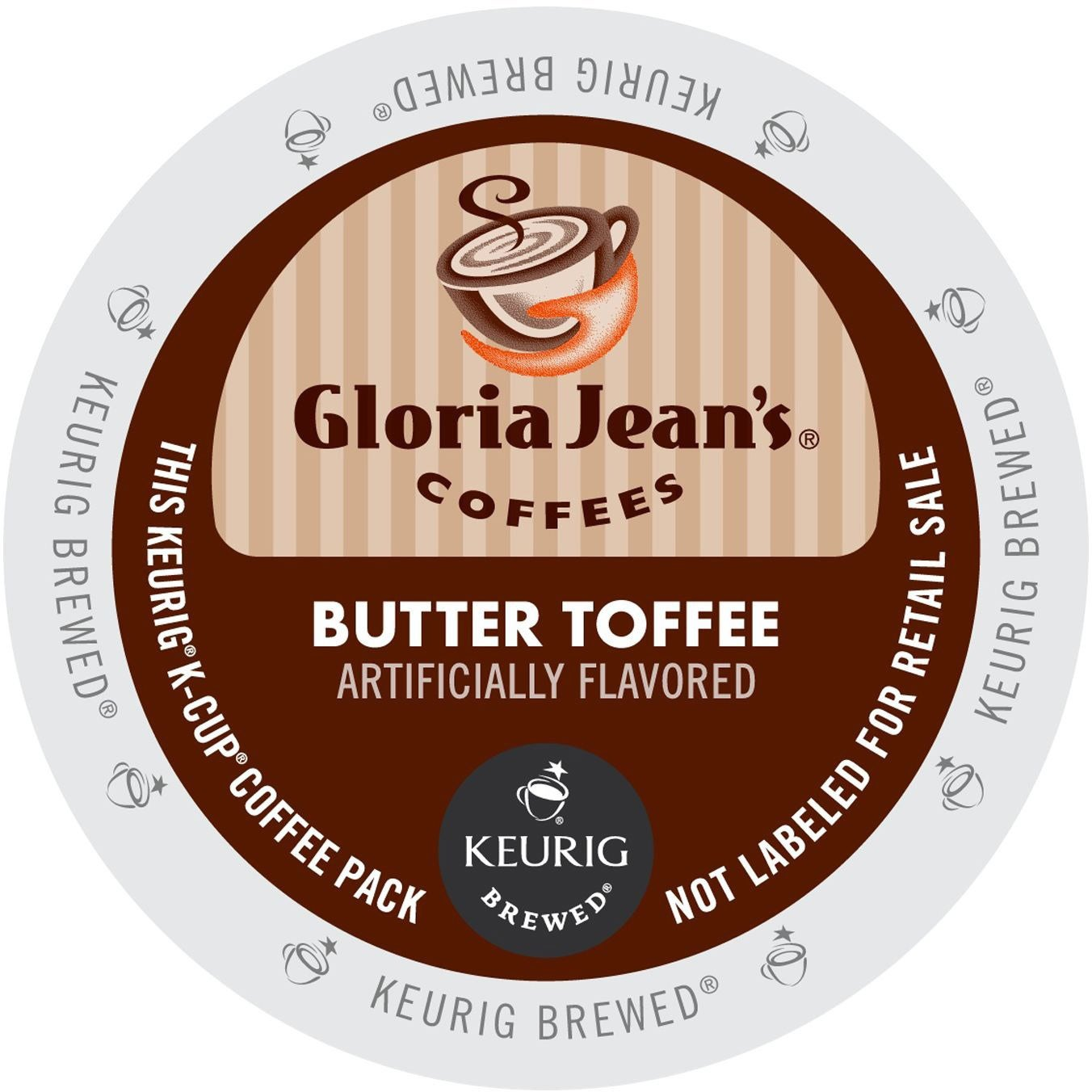 Green Mountain Products Gloria Jean's Coffees, Butter (Ye...