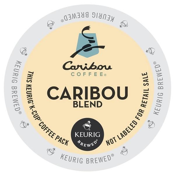 Caribou Coffee Caribou Blend Keurig K-Cups for Keurig Brewers